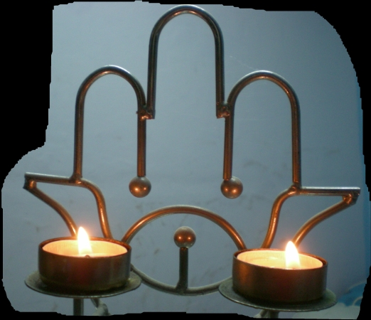 נרות שבת    Shabbat candles