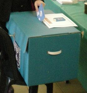 מעטפת ההצבעה