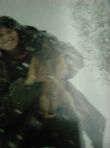 סנופי ואני בשלג בריחן