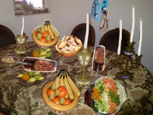 שולחן טו-בשבט