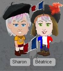 Béatrice & Sharon