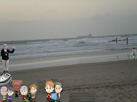 תשליך בחוף אולגה