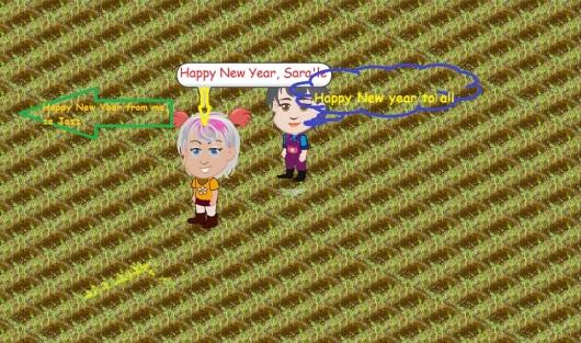 Happy New Year!!! Bonne année!