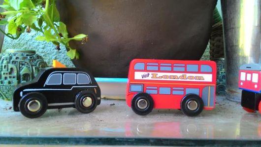 מונית ואוטובוס לונדון5