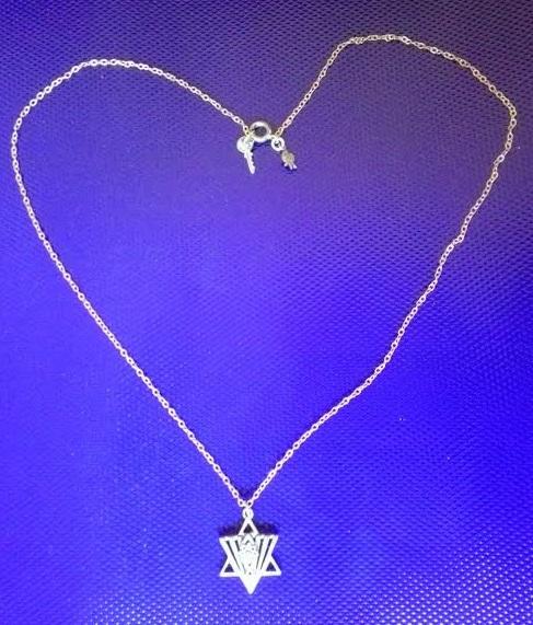 #developingyoureye תליון מגן דוד מעוצב Designed Magen David pendant
