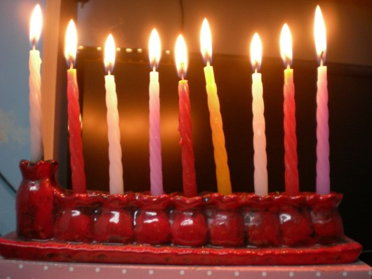 נר שמיני של חנוכה 8th Hanukkah candle