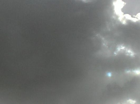 שמיים שחורים שאינם מבשרים טובות Black omen sky
