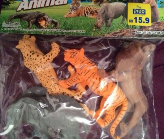 חיות ג'ונגל Jungle animals