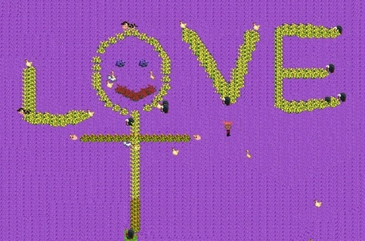 אהבה בסגול Purple love