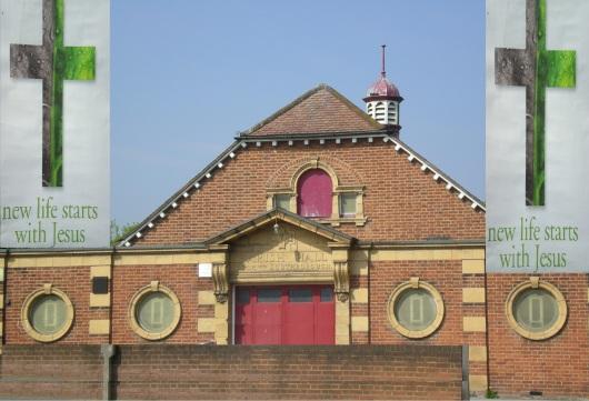 כנסיה בסורביטון, אנגליה Church in Surbiton England