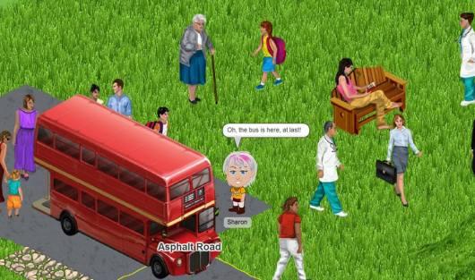 הרפתקה באוטובוס An adventure in the bus