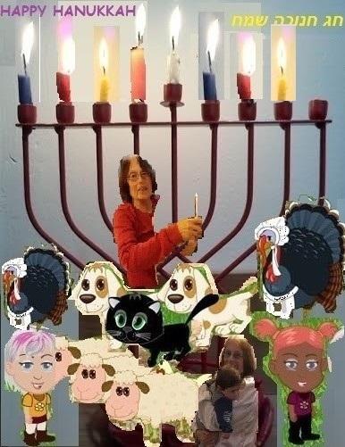 נר שביעי של חנוכה The seventh candle of Hanukkah