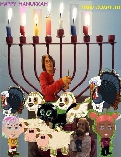 נר שישי של חנוכה The sixth candle of Hanukka