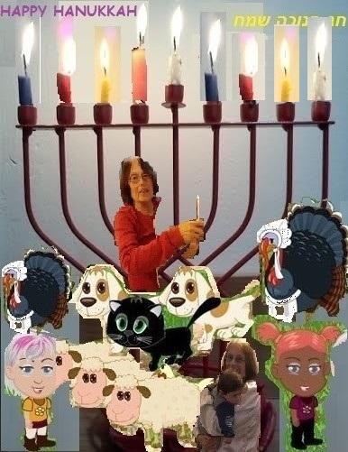 נר שמיני של חנוכה The eighth candle of Hanukkah