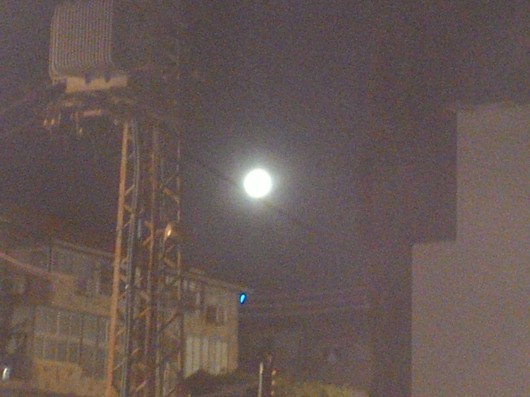 סופר ירח בחדרה 3.12.17 Supermoon in Hadera