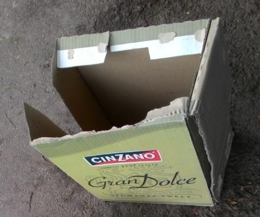 קופסת קרטון מזדמנת Occasional cardboard box