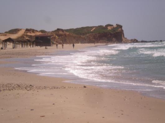 חוף הים באולגה The beach in Olga