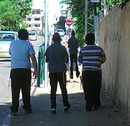 שכונה דתית A religious neighborhood
