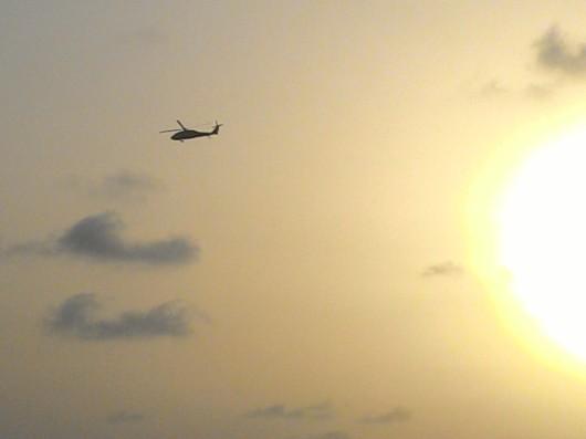 מסוק עלי ים Helicopter on the sea