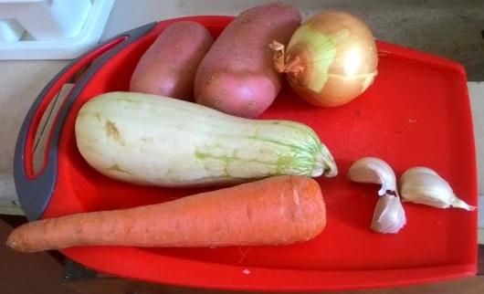 ירקות למרק Vegetables for soup