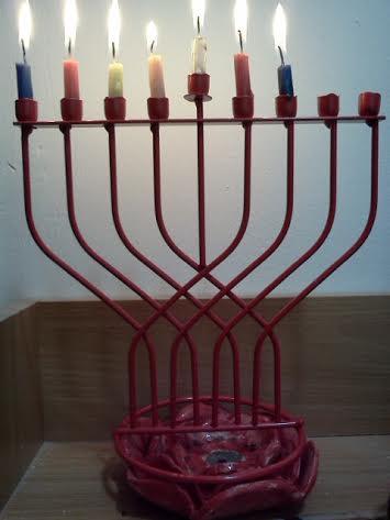 נר שישי של חנוכה Sixth candle of Hanukkah
