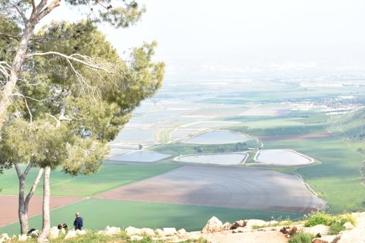 מבט מהגלבוע לעמק יזרעאל View from the Gilboa to the Jezreel Valley
