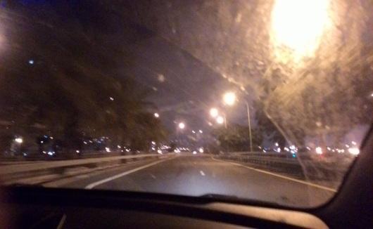 לילה בדרך חזרה Night on the way back
