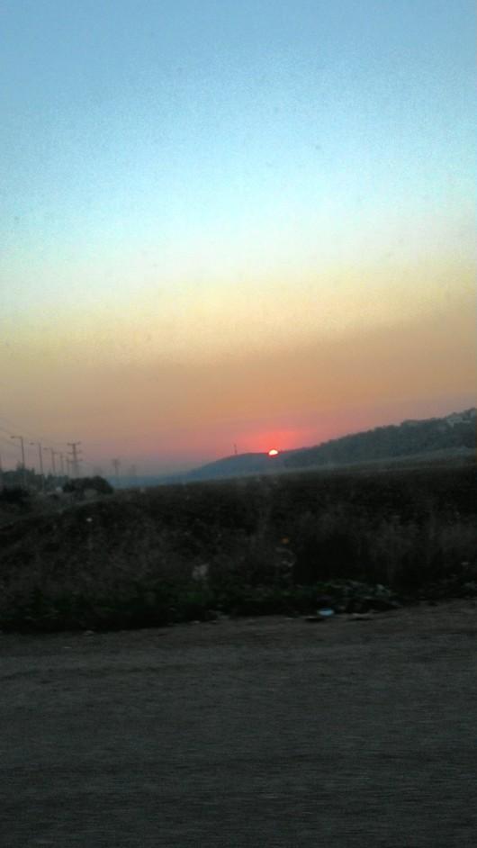 עוד שקיעה מהממת Another stunning sunset