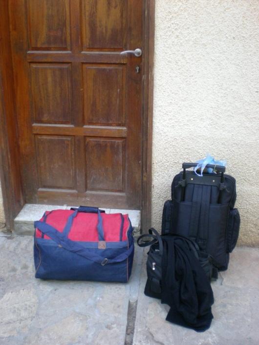 מזוודות מוכנות לדרך Ready to go suitcases