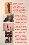 הצילומים שלי תלויים בתערוכה My photographs are displayed at the exhibition