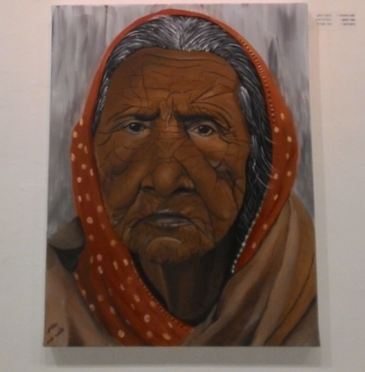 יהודית דורון, סימני הזמן, מתוך תערוכת אישה מוזה Yehudit Doron The Narks of Time
