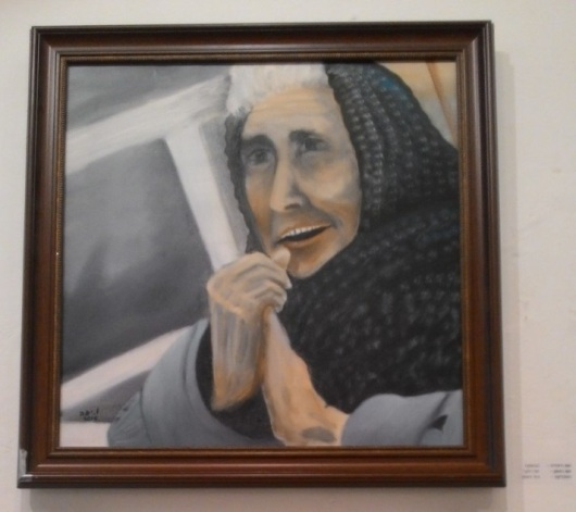 יפה וינקר, בבושקה, תערוכת אישה מוזה Yaffa Winker, Babuschka, Woman Muse Exhibition