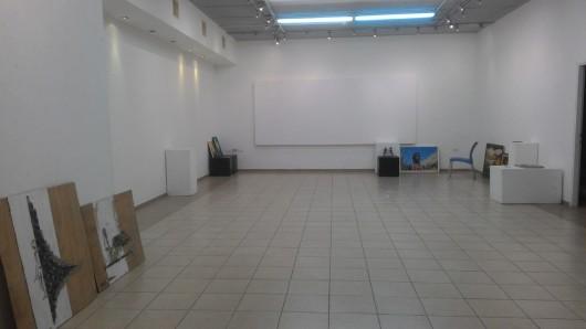 תערוכה ריקה An empty exhibition