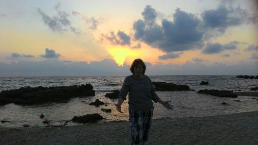 ים ישראלי בשקיעה An Israeli sea at sunset