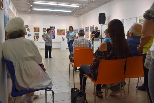 """נאומים בערב פתיחת התערוכה """"קיץ הכי ישראלי"""" Speeches at the opening of """"The Most Israeli Summer"""" exhibition"""