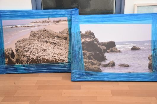 תערוכת חוף הים שלנו בעיריית חדרה Our Beachfront Exhibition at the Hadera Municipality