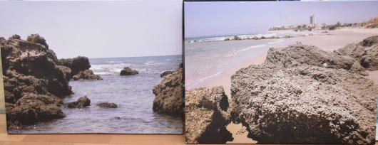 התמונות שלי בתערוכת חוף הים שלנו בעיריית חדרה My photos at the Our Beachfront Exhibition at the Hadera Municipality