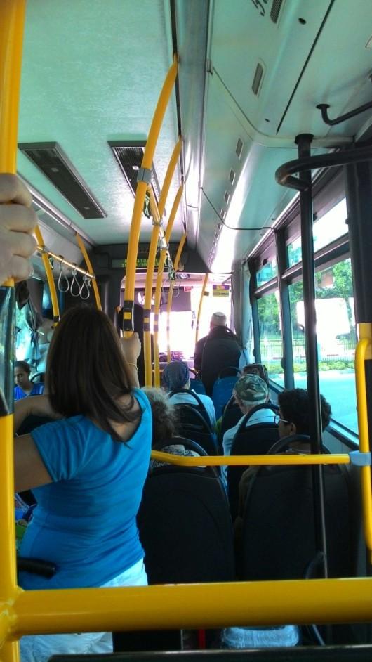 אנשים באוטובוס People on the bus