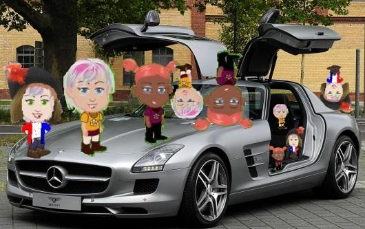 גם מרצדס צריכה לאותת A Mercedes should signal, too