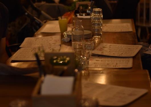 השולחן ערוך, עוד מעט נזמין The table is set, soon we will order