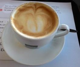 קפה עם סויה Coffee with soy