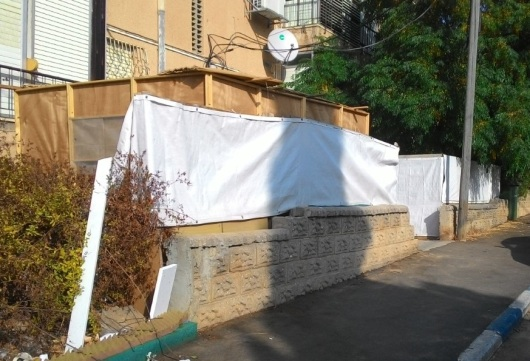 סוכות רגילות   Typical Sukkot