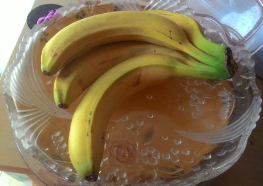 אשכול בננות נאה A nice bunch of bananas