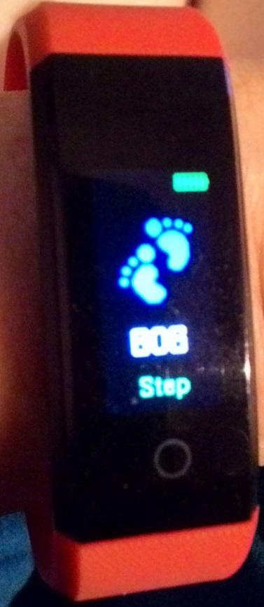 שעון צעדים Step watch