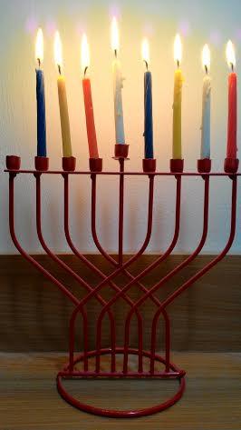 נר שביעי של חנוכה Hanukkah seventh candle