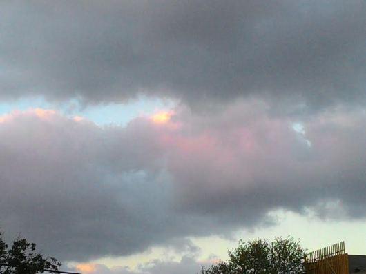 שמיים מעוננים אחר הצהריים   Cloudy skies in the afternoon