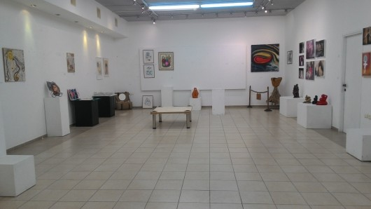 הגלריה מתרוקנת ממוצגיה   The gallery becomes empty from its exhibits
