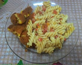 ארוחת פסטה קלילה   Light pasta meal