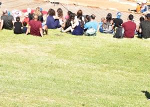 אנשים בפארק   People in the park